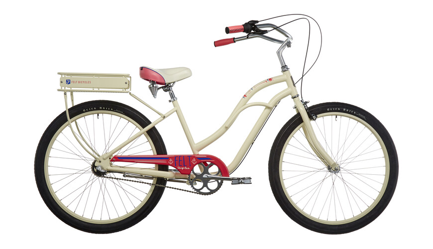 "Felt Cruiser Jetty Citybike 26""/3-SP gul"